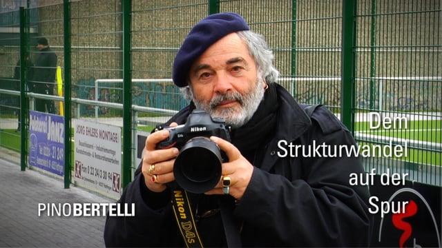 Pino Bertelli fotografo ad Hattingen