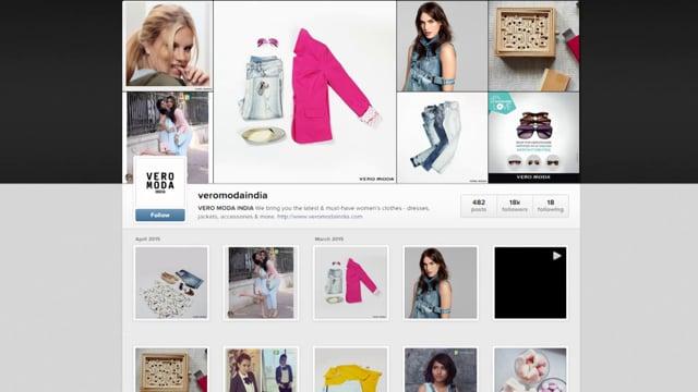 Vero Moda Instagram Case Study