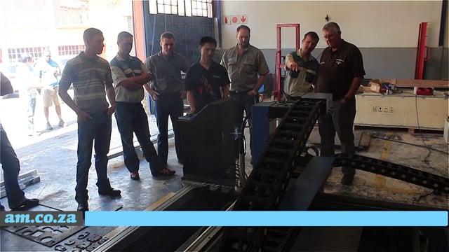 MetalWise CNC Plasma Cutter Demonstration