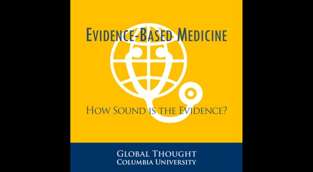 """Global Think-in<br /> Rethinking Knowledge: Evidence-Based Medicine - How Sound is the Evidence?<br /> East Gallery, Buell Hall (Maison Française), Columbia University<br /> April 23, 2015<br /> <br /> """"Rethinking Knowledge: Evidence-Based Medicine"""" will address how randomized clinical trials provide the highest quality of evidence with regard to the efficacy and safety of medical interventions such as drugs and surgical procedures. However, cost and ethical considerations dictate that randomized trials are few and far between. Instead the healthcare system increasingly relies on """"observational studies"""" to inform the care of patients. These studies typically analyze patient-level data gathered for other purposes such as patient care or billing. There is a growing realization that many of the """"findings"""" from such studies are wrong. Biases that randomized trials so elegantly circumvent, bedevil observational studies and render their conclusions meaningless. As a consequence, so-called """"evidence-based medicine,"""" as widely practiced around the world, isn't. The think-in would examine the social and scientific history that has led us to this crisis-point and discuss possible ways forward.<br /> <br /> From taking stock of past and present efforts, to examining the assumptions built into the very premise, to speculating on the necessary reconfiguration of academic disciplines, this CGT Think-in aims at a free flowing exchange in which the contours of the problem are sketched and possible models are tested. To facilitate this, the format contains two parts: a small, closed-door brainstorming lunch with invited participants, followed immediately by an open public discussion.<br /> <br /> David Madigan, Professor of Statistics, EVP and Dean of the Faculty of Arts and Sciences, Columbia University <br /> <br /> John Ioannidis, C.F. Rehnborg Professor in Disease Prevention in the School of Medicine and Professor of Health Research Policy, Stanford University<br /> <br /> Wafaa"""