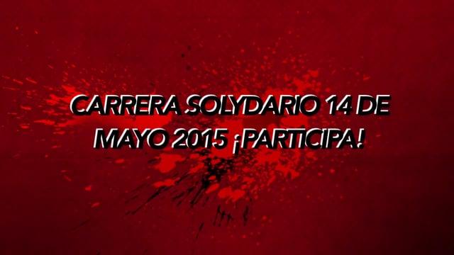 ANUNCIO: CARRERA SOLyDARIO 13-14 DE MAYO