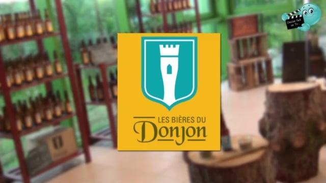 La visite guidée de la brasserie artisanale des BIERES DU DONJON par l' équipe de DECIZE FAIT SA TV .