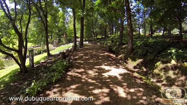 DubuqueArboretum.com Japanese Garden Walk.