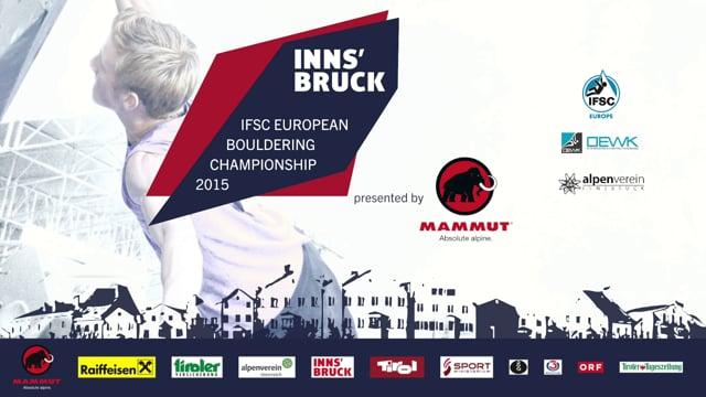 Чемпионат Европы в Инсбруке