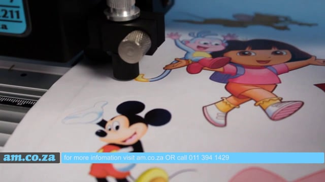 What is Contour Cutting? Vinyl Cutting Video Demonstrate Contour Cutting