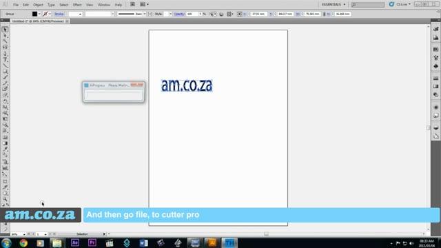 Install V-Smart Vinyl Cutter Adobe Illustrator Plugin