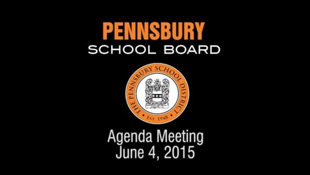 Pennsbury School Board Meeting for June 4, 2015