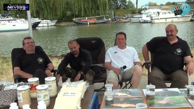 DECIZE fait sa télé à la fête de la Pêche 2015 à Nevers, interview de Momo de Mission Baits par Olivier de Nevers FM