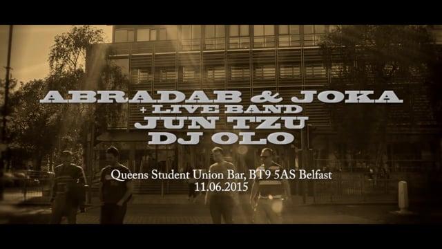 Wideorelacja z koncertu Abradab i Joka (Kaliber 44) w Belfaście