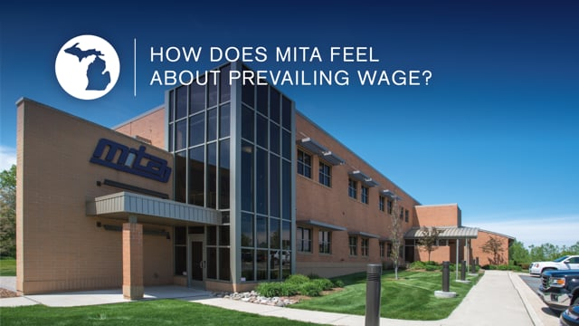 Prevailing Wage: MITA Viewpoint