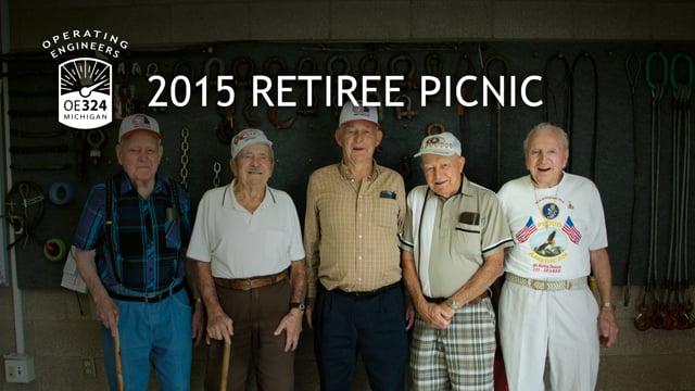 2015 Retiree Picnic