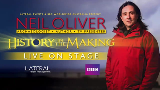 Neil Oliver – History in the Making Live on Stage