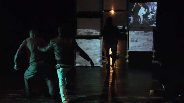 Final performance 1  - In living memory workshop in Milano, March 2015