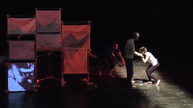 Final performance 2 -  In living memory workshop in Milano, March 2015
