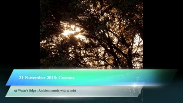 At Water's Edge, 21 November 2015: Cosmos