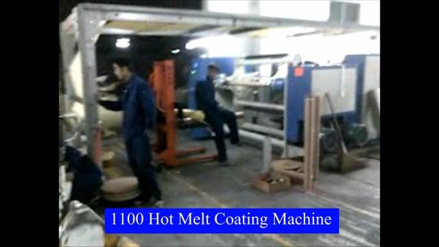 Hot Melt Coating Machine for Adhesive Label