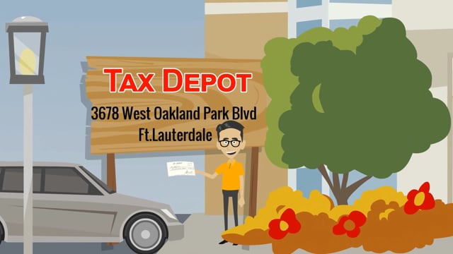 TaxDepot-Animation Video Spot