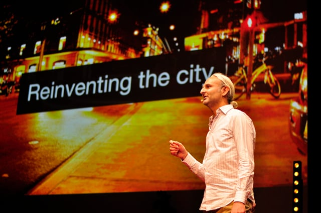 Shaking up the city experience - TEDx - Dan Acher