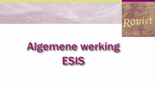 ESIS: Algemene werking ESIS