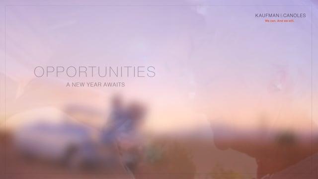 A New Year Awaits
