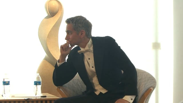 Dubuque Museum of Art Dead Artist Series - Leonard Bernstein