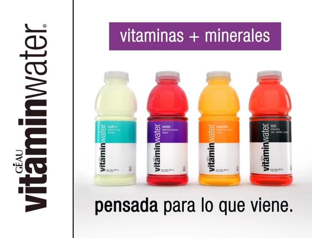 Vitamin water Via Pública