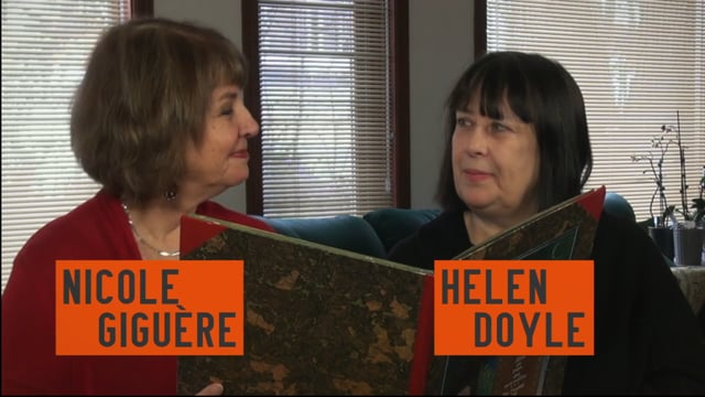 Helen Doyle et Nicole Giguère