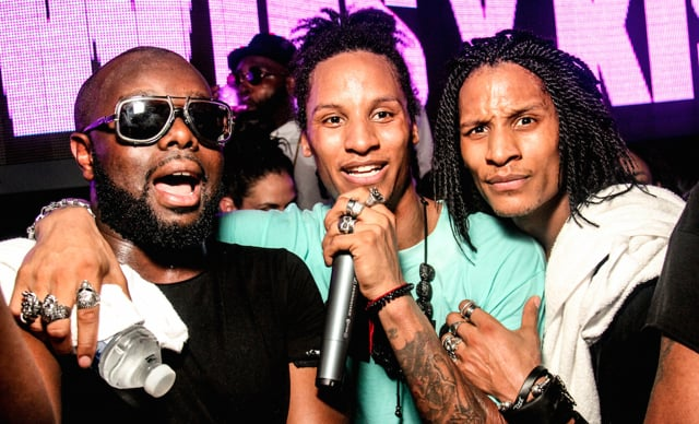 LES TWINS LIVE ON STAGE AT K CLUB   12.09.2015