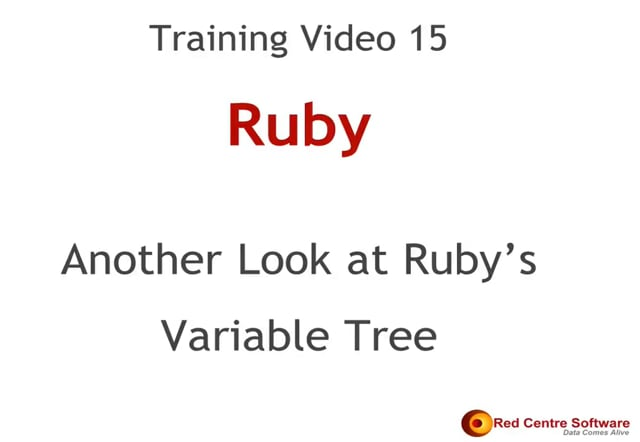 15. Another Look at Ruby's Variable Tree