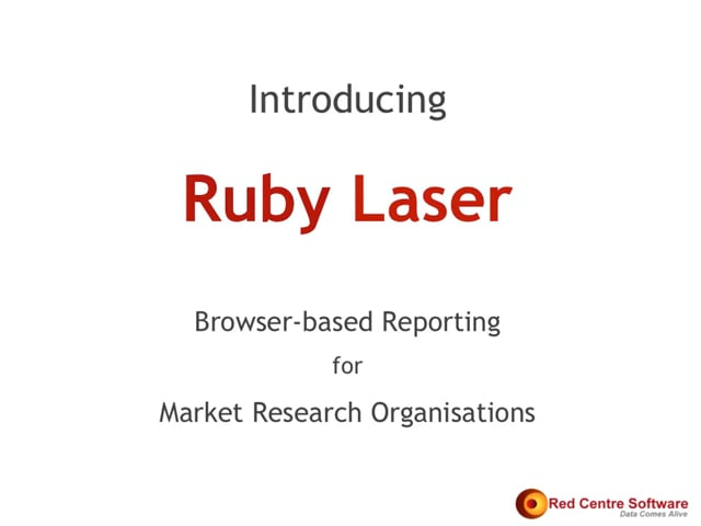 Introducing Ruby Laser