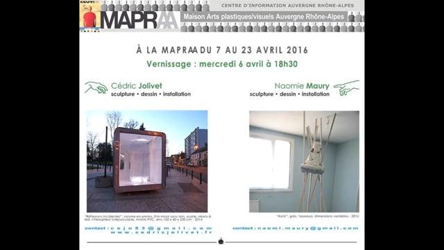 NAOMIE MAURY - CÉDRIC JOLIVET - MAPRAA