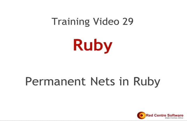 29. Permanent Nets in Ruby