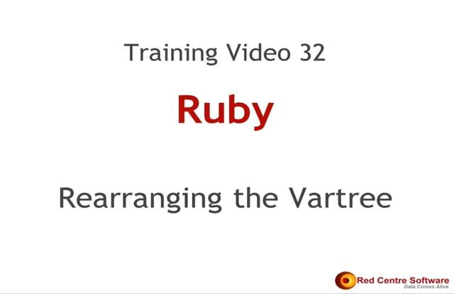 32. Rearranging the Vartree