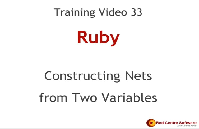 33. Constructing Nets from Two Variables