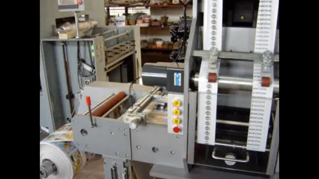 MYG-320 Model Label Hot Foil Stamping & Die Cutting Machine