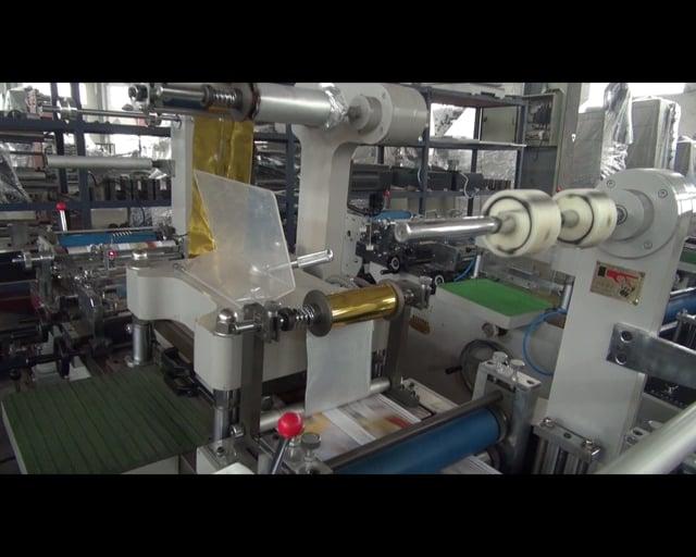 WQM-320G label hot stamping machine