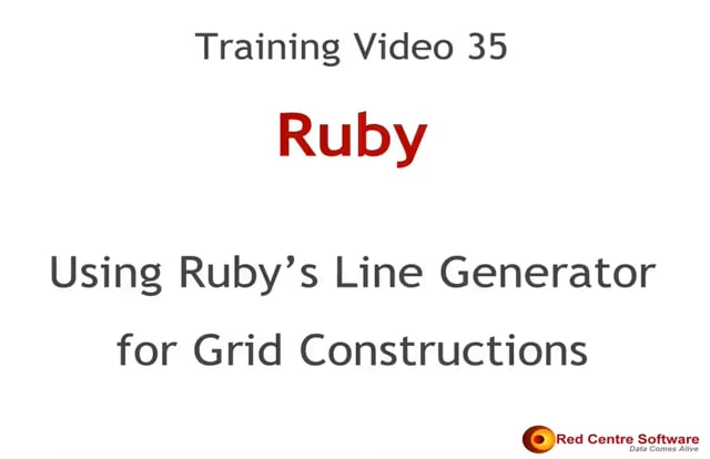 35. Using Ruby's Line Generator for Grid Constructions