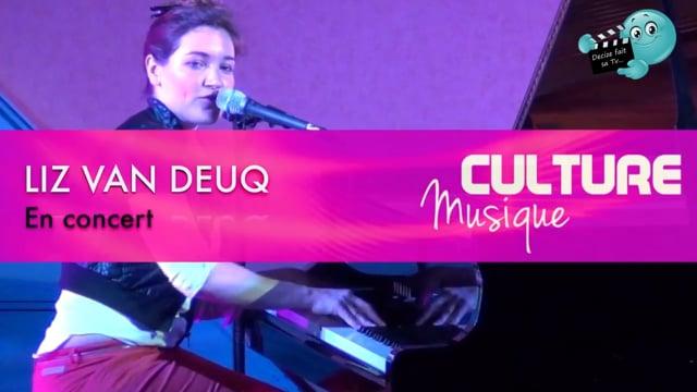 Decize fait sa télé à Decize, Concert et Interview de Liz Van Deuq avril 2016