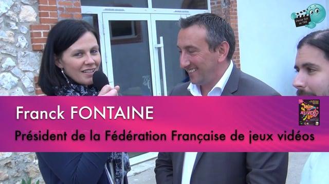 Decize fait sa télé à Garchizy au domaine de la Vernée au salon du jeu vidéo organisé par E2G. L' interview de Franck FONT