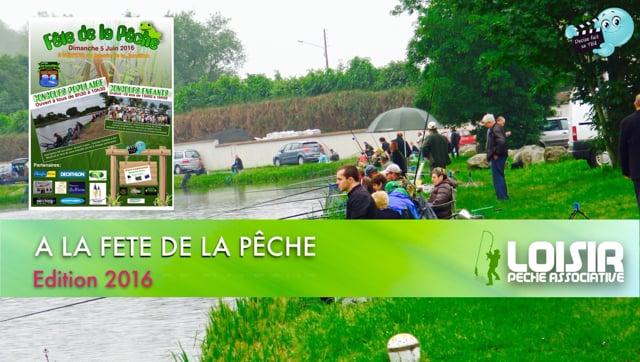 Decize fait sa télé à Nevers à la fete de la peche 2016