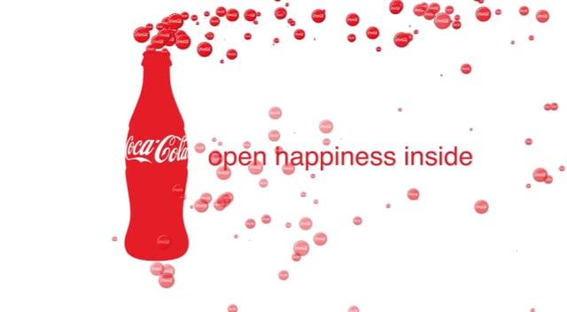 Coca Cola - Open Happiness