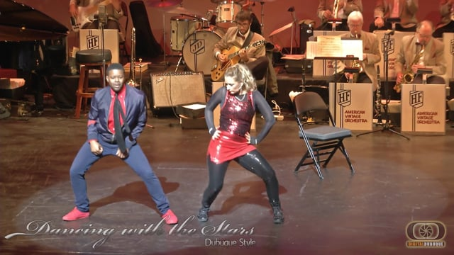 Emily and Cameron - Dancing With the Stars Dubuque Style 2016