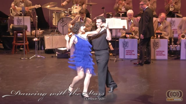 Bobbi and Adam - Dancing With the Stars Dubuque Style