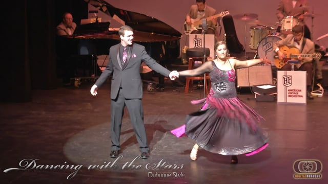 Digger and Jessica- Dancing With The Stars Dubuque Style