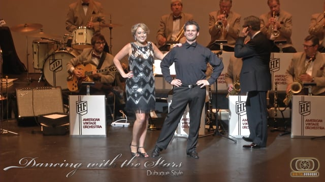Amy &  Adam - Dancing With the Stars Dubuque Style