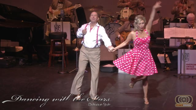 Otto and Pam - Dancing With the Stars Dubuque Stars