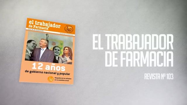 REVISTA EL TRABAJADOR DE FARMACIA Nº103