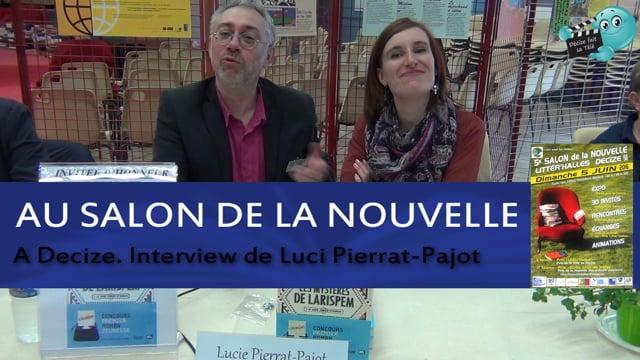 Decize fait sa télé au salon du livre avec Lucie Pierrat-Pajot