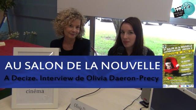 Decize fait sa télé au Salon du livre de Decize avec Olivia Daeron-Precy