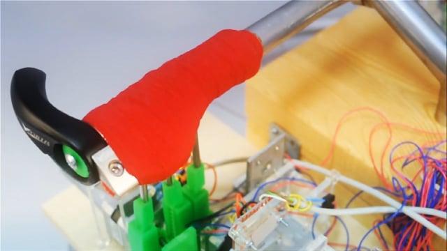 Shape shifting Handlebar Prototype